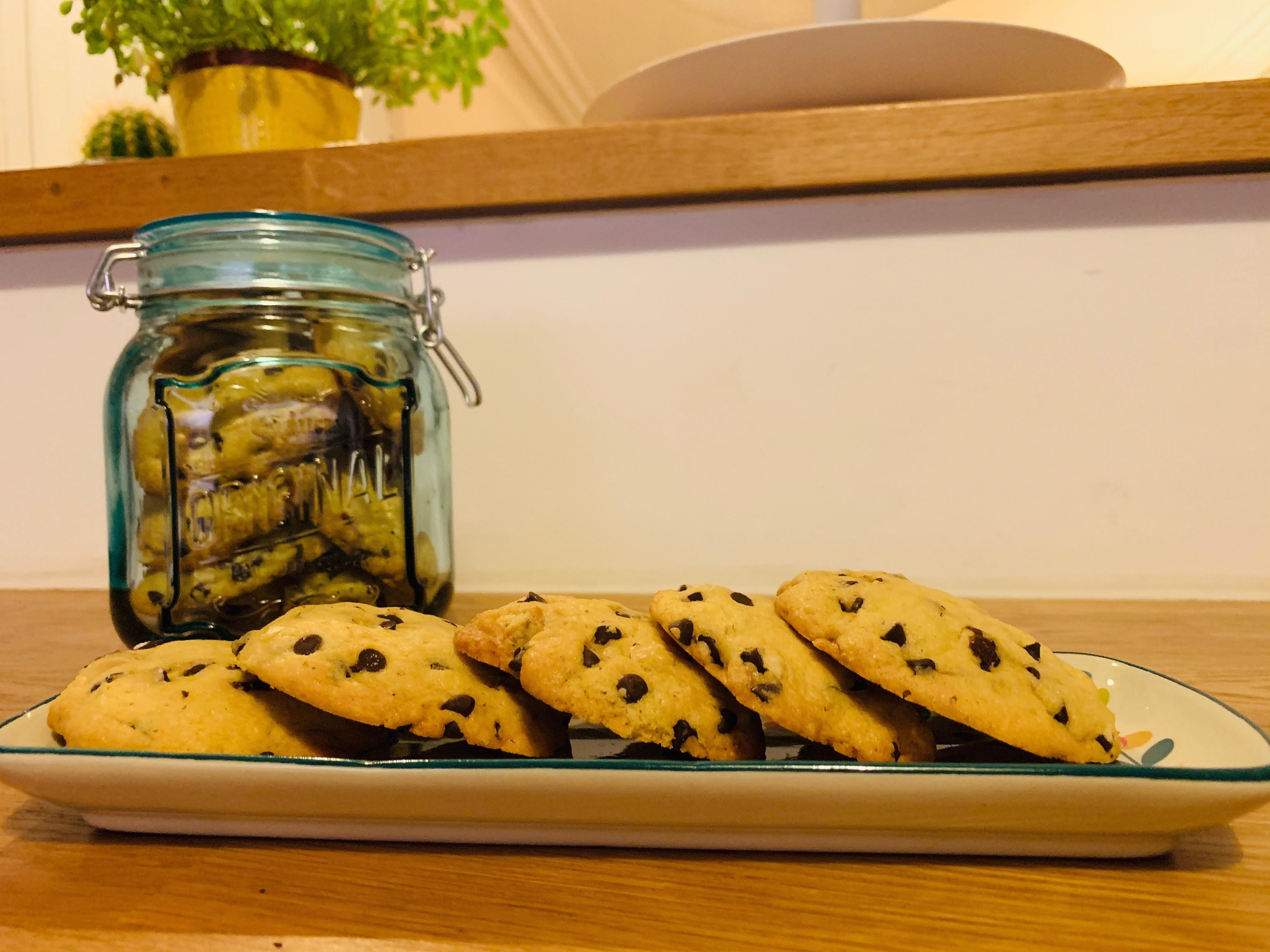 cookies pépites de chocolat